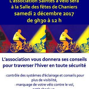 Cyclistes, brillez ! @ Salle des fêtes | Chaniers | Nouvelle-Aquitaine | France