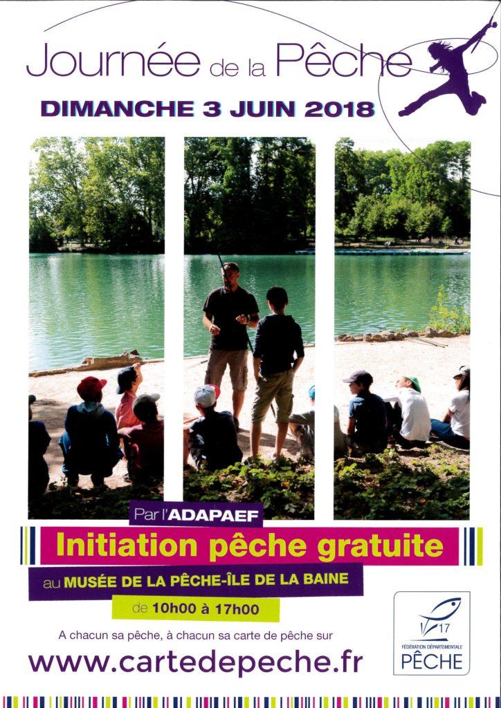 Journée de la Pêche @ La Baine  | Chaniers | Nouvelle-Aquitaine | France