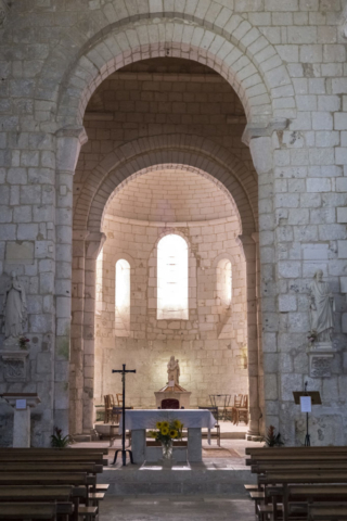 Eglise Saint Pierre à Chaniers (17)