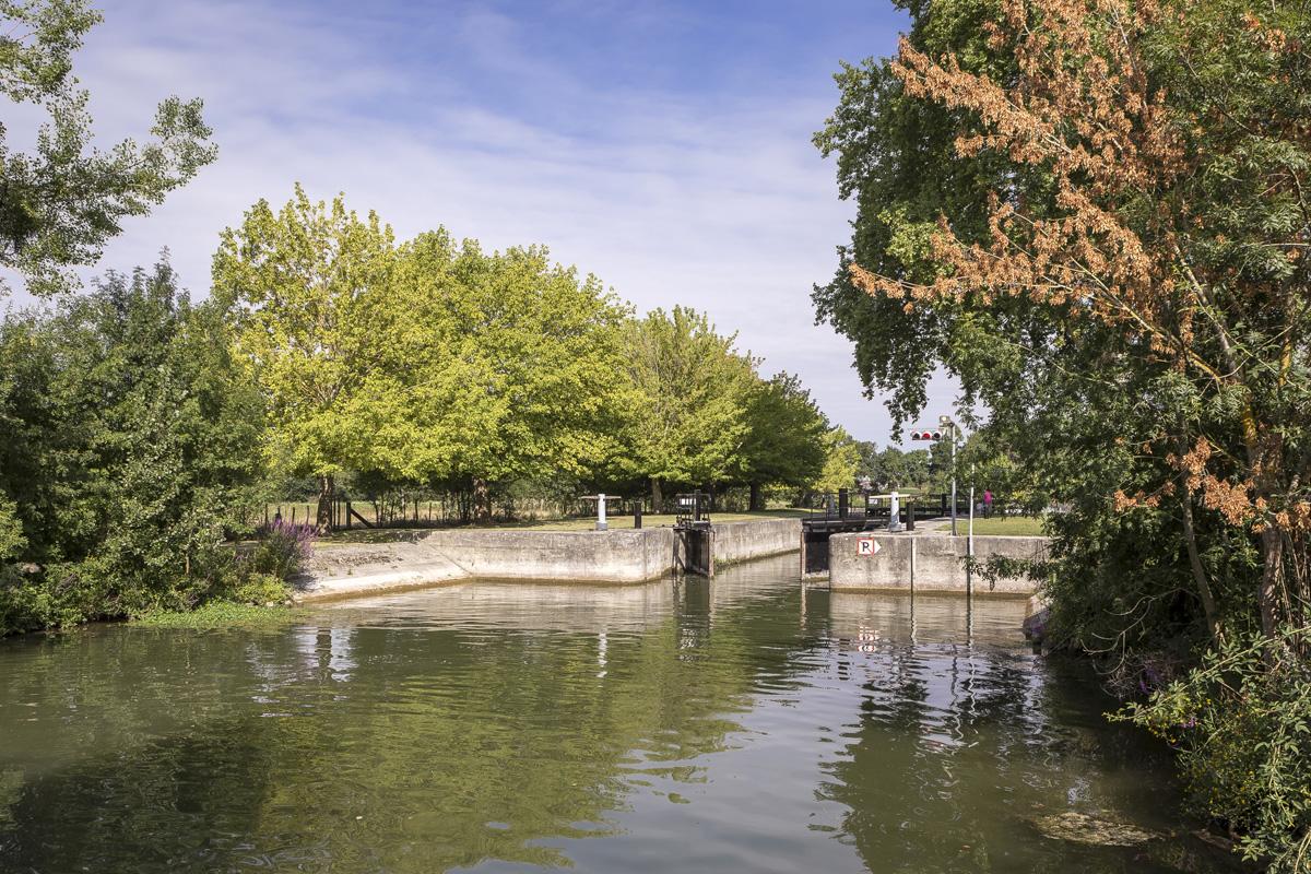 Ecluse de la Baine à Chaniers (17)