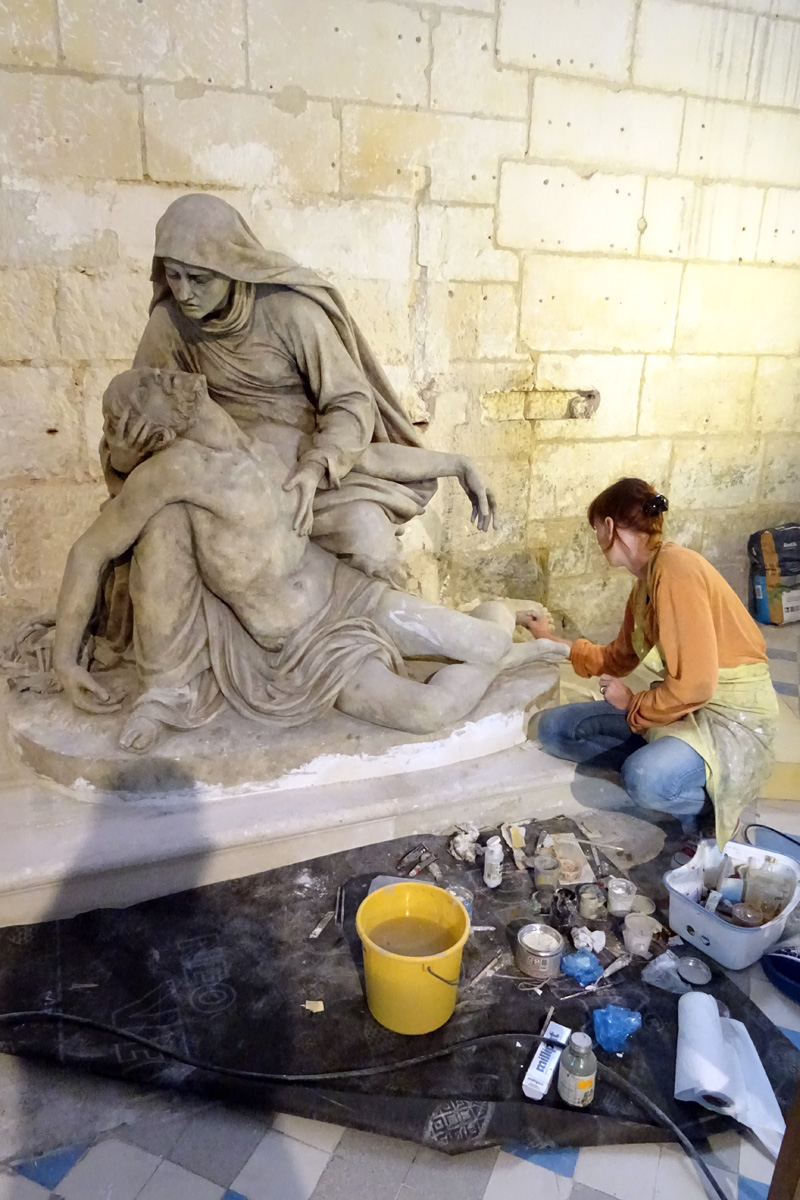 Rénovation de la Pietà
