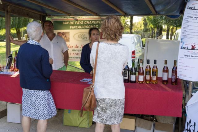Marché fermier du 20 Juillet 2017 à Chaniers (17)