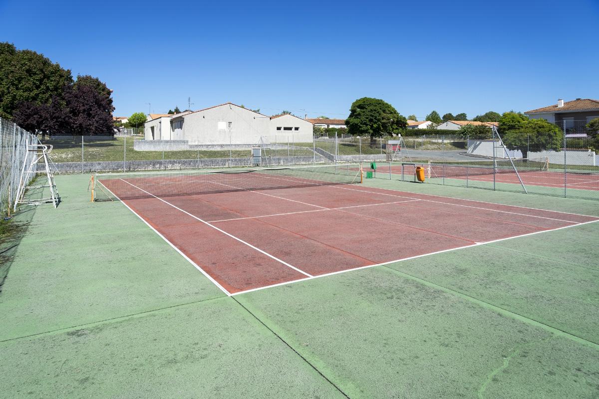 Terrains de tennis de la Touche – Rue de la Touche