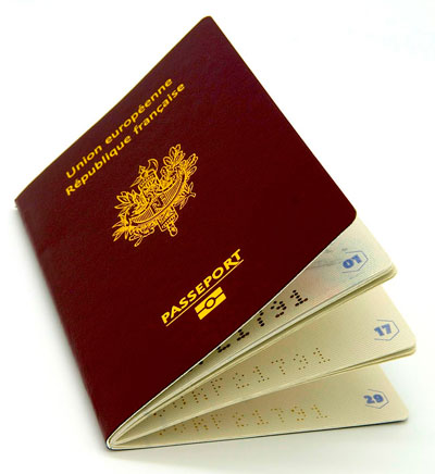 Passeport biométrique - République française