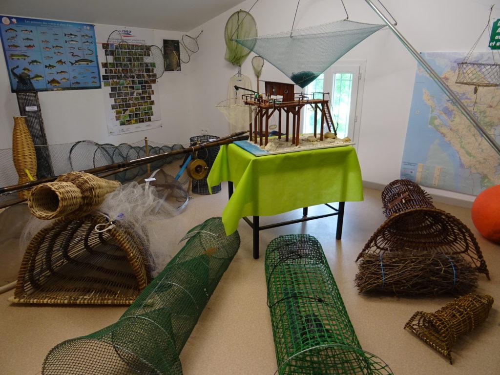 Ouverture du musée de la pêche aux lignes et aux engins @ Maison éclusière