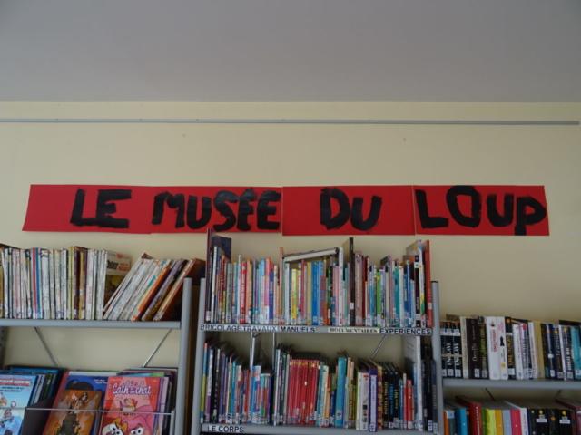 Musée du loup - Médiathèque de Chaniers
