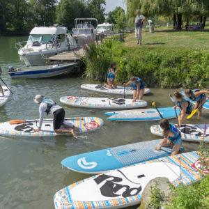 Découverte du paddle board @ Le communal