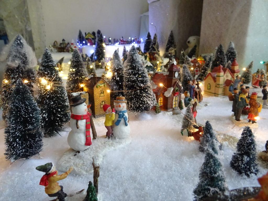 L'expo de la Médiathèque : le Petit village de Noël @ Médiathèque