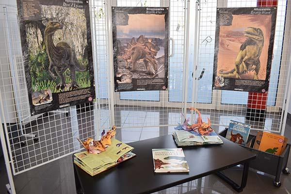 L'expo de la Médiathèque : Les dinosaures @ Médiathèque