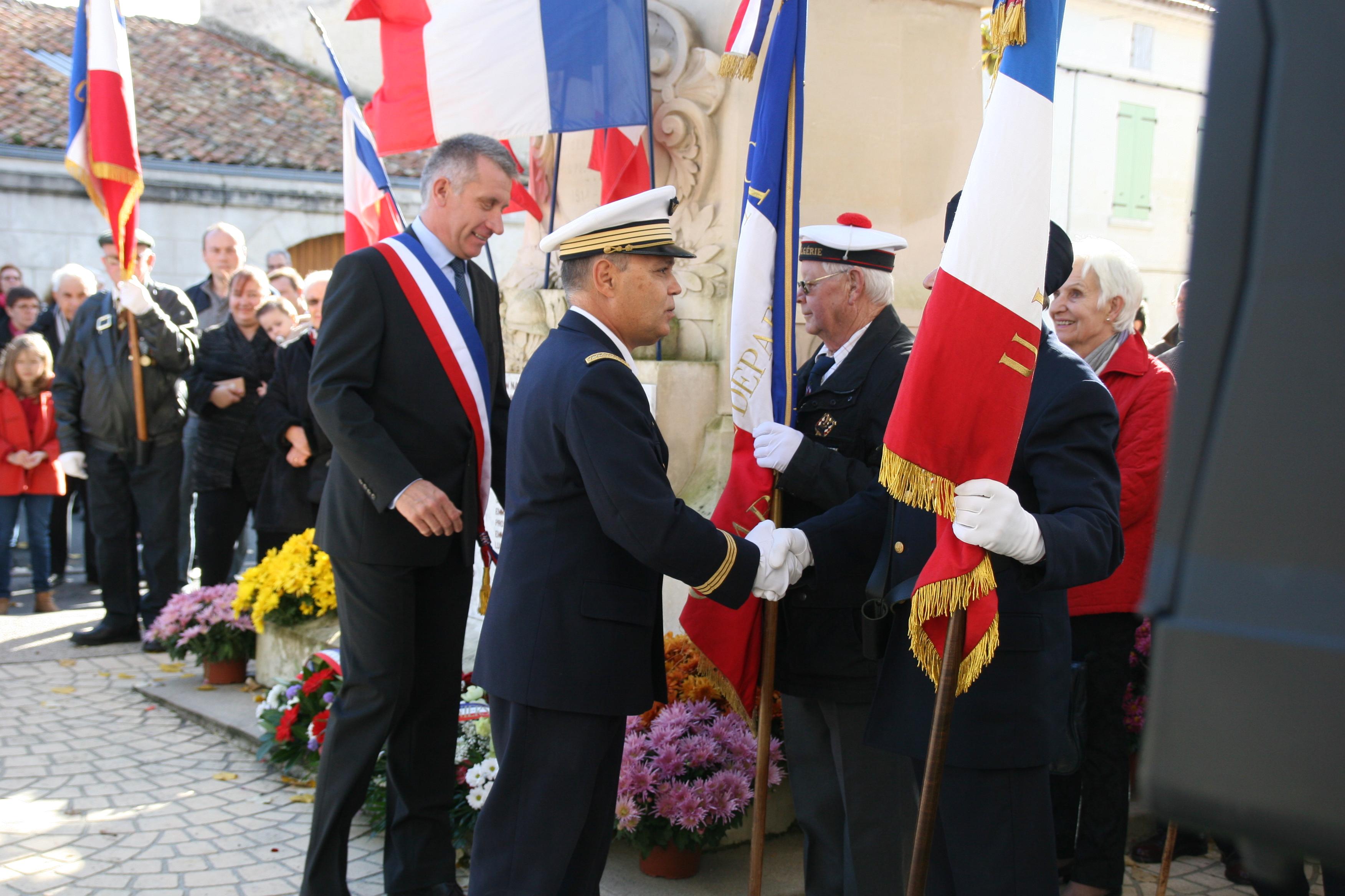 Commémorations 11 novembre 2018 Chaniers