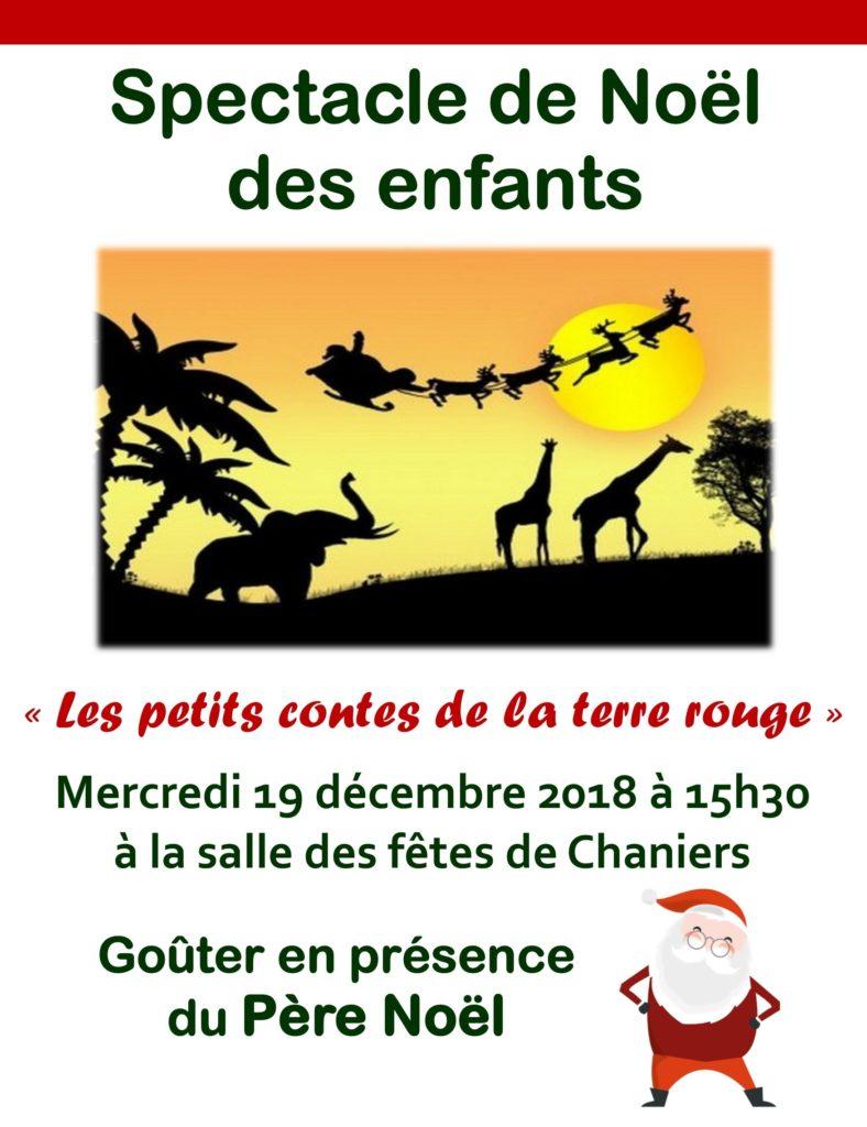 Spectacle de Noël des enfants @ Salle des Fêtes