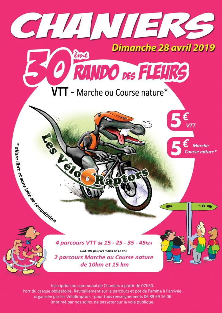 30e Rando des Fleurs @ Le Communal