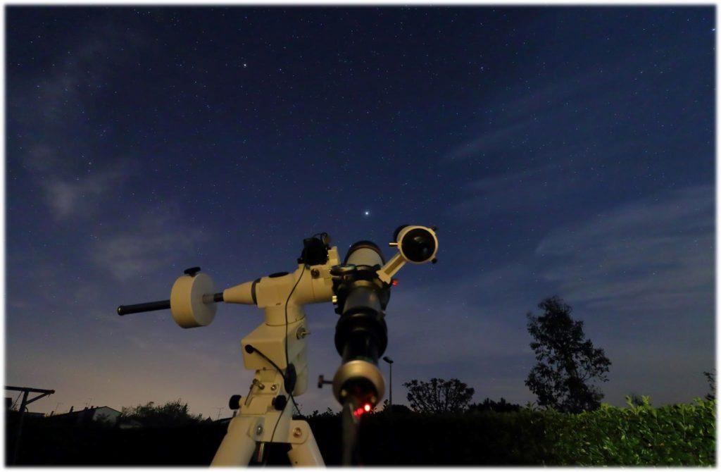 Séance d'observation du ciel nocturne @ Le communal