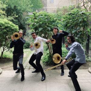 """Concert du quatuor de trombones """"Fusion"""" @ Eglise Saint-Pierre"""
