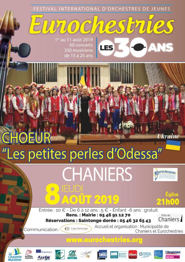 """Concert """"Les petites perles d'Odessa"""" @ Eglise Saint-Pierre"""