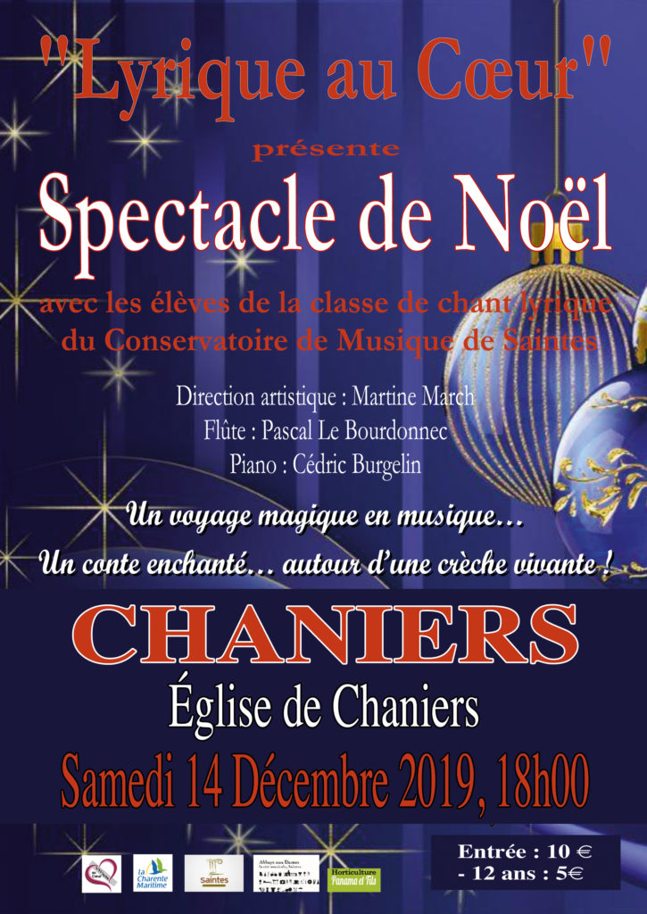 "Spectacle de Noël de ""Lyrique au Cœur"" @ Eglise Saint-Pierre"