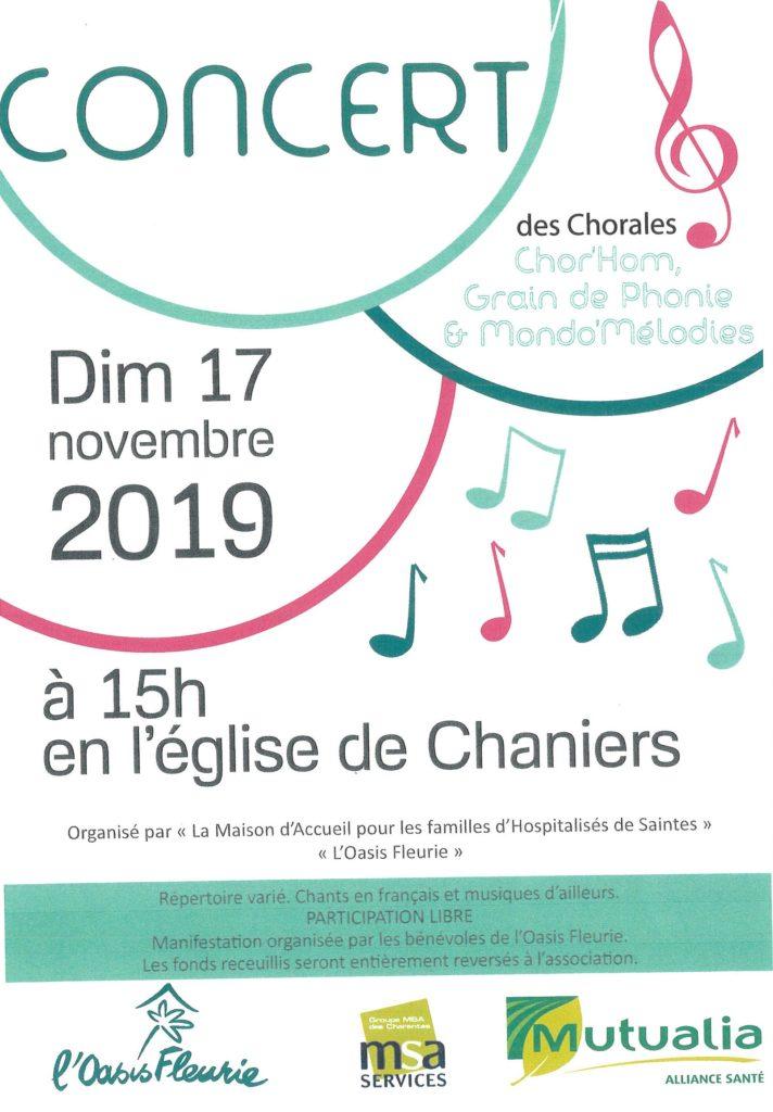 Concert de Chorales en l'église @ Eglise Saint Pierre