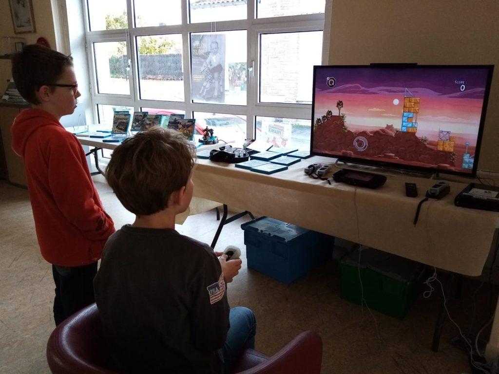 Venez essayer la Nintendo WII U ! @ Médiathèque Dominique de Roux