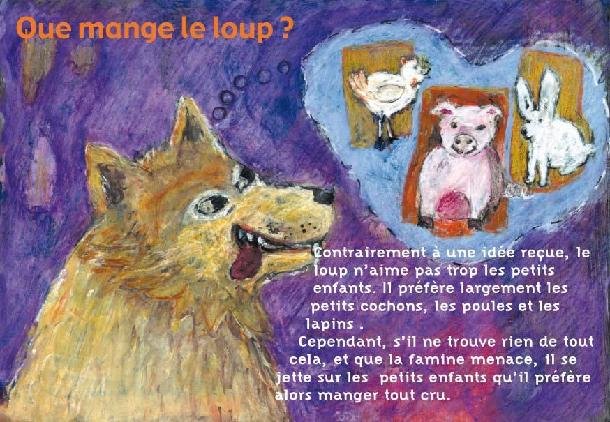 """L'expo de la Médiathèque : """"Le loup"""" @ Médiathèque Dominique de Roux"""