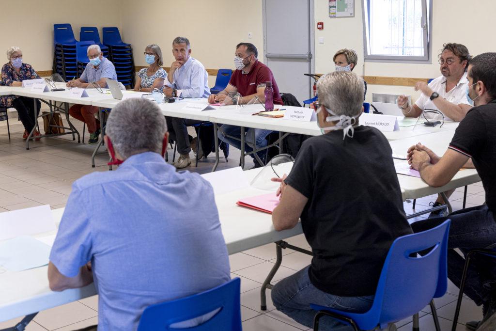 Conseil municipal @ Salle des Prises