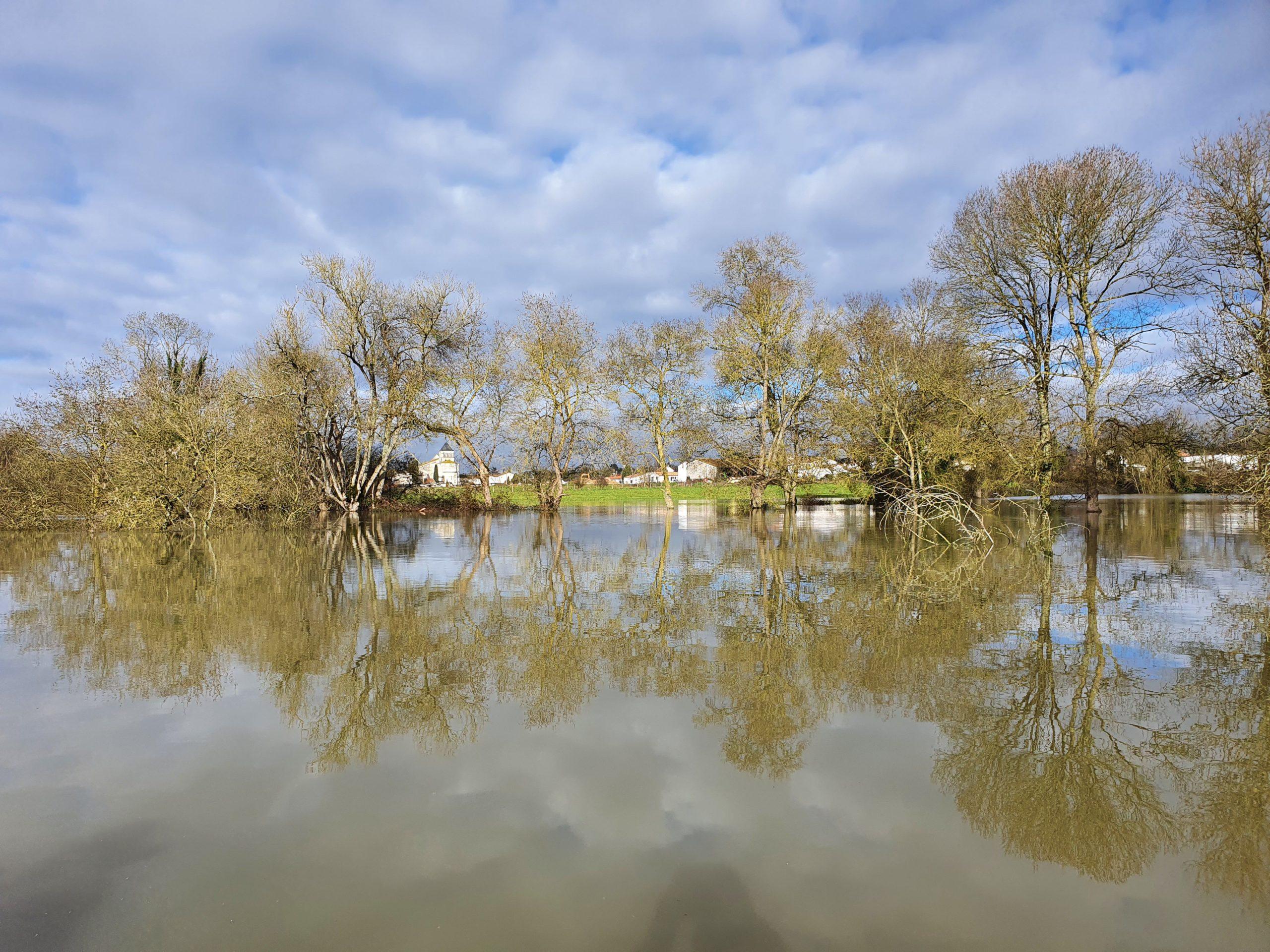Crue de la Charente février 2021