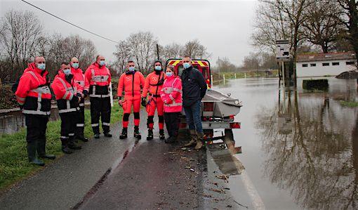 Crue de la Charente février 2021 - Nicole BERTIN