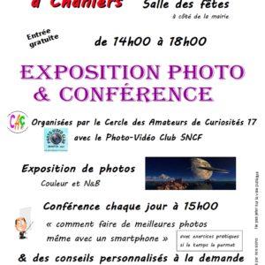 """Expo Photos et conférence """"comment faire de meilleures photos même avec un smartphone"""" ? @ Salle des fêtes"""